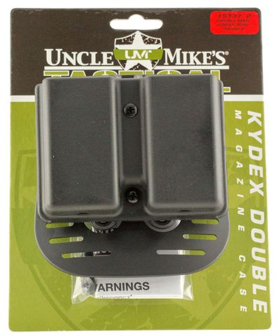UNCLE MIKES KYDEX DOUBLE MAGAZINE HOLSTER 1911 MAGS