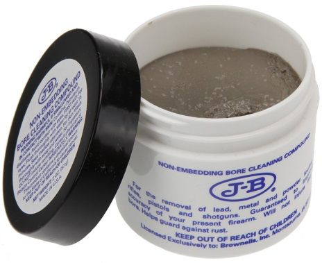 JB NON-EMBEDDING BORE CLEANING COMPOUND 2OZ JAR