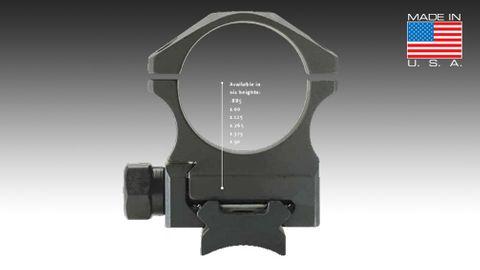 NIGHTFORCE STEEL RING SET 30MM HIGH 1.125