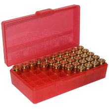 MTM 44MAGNUM AMMUNITION BOX RED