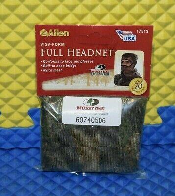 ALLEN FULL HEAD NET MOSSY OAK CAMO