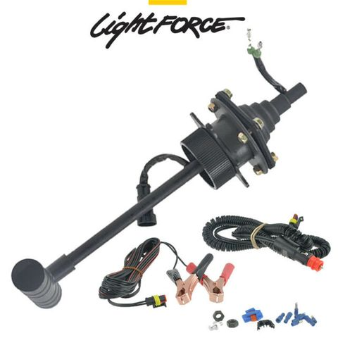 LIGHTFORCE  REMOTE CONTROL 225MM CIG CORD FIG 8 CABLE  ALI CLIPS