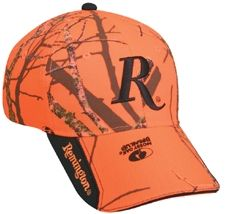 REMINGTON BLAZE BALL CAP