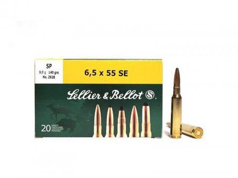 SELLIER & BELLOT 6.5X55 131GR SP 20PKT