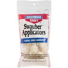 BIRCHWOOD CASEY SWAUBER APPLICATORS PKT 20