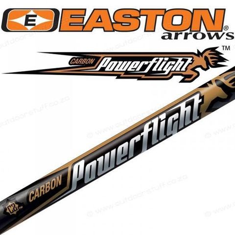 EASTON POWER FLIGHT ARROW 400 SPINE