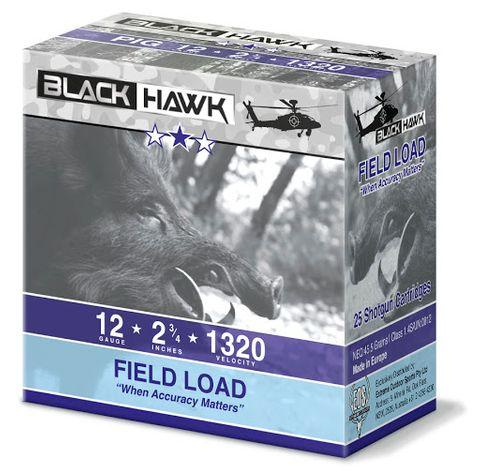 BLACKHAWK OOSG 9  PELLET 12GA SHOTSHELL 25PKT