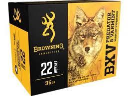 BROWNING BXV 22HORNET 35G VE