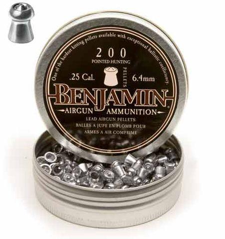 BENJAMIN 25 CAL HUNTING PELETTS 200PK