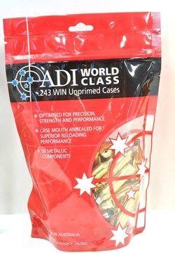 ADI 243WIN UNPRIMMED BRASS (50)