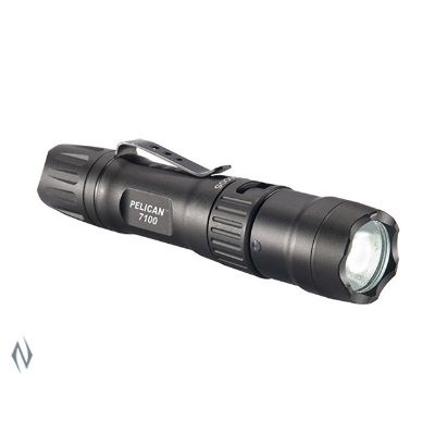 PELICAN TORCH 7100 LED TACTICAL RECHARGEABLE 695 LUM 1XAA