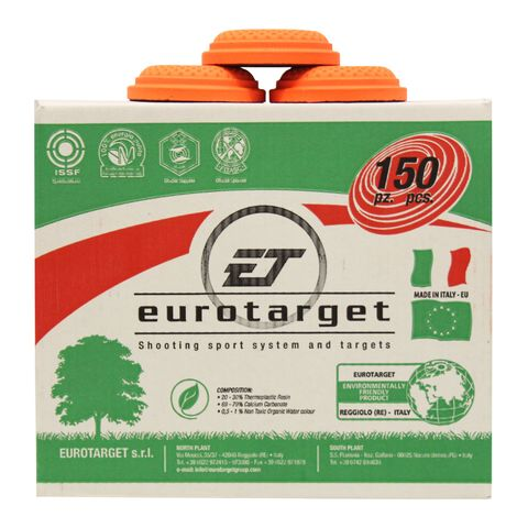 EUROTARGET SAGITTARIO 2000 ORANGE CLAY TARGETS BOX 150