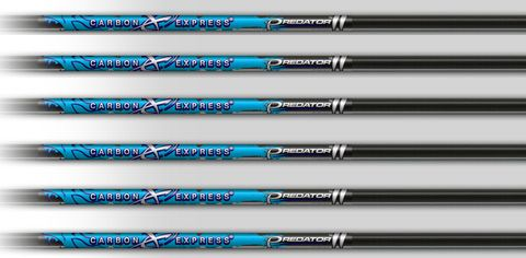 CARBON EXPRESS PREDATOR II ARROWS 300 SPINE