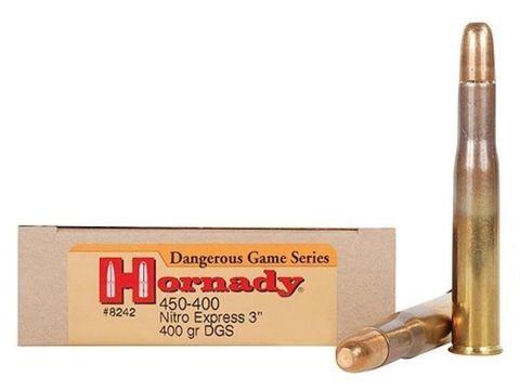 HORNADY DANGEROUS GAME 450-400 NITRO EXP 400GR DGX 20PKT