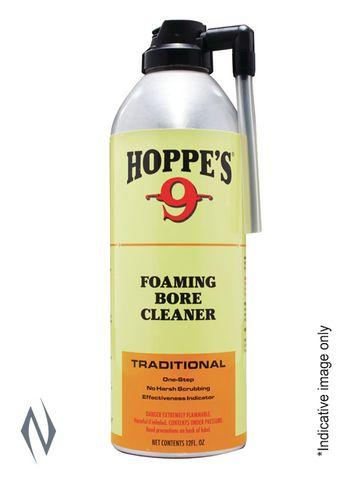 HOPPES NO9 FOAMING BORE SOLVENT 12OZ