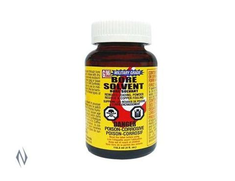 G96 BORE SOLVENT MILITARY 4OZ