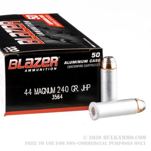 BLAZER 44 MAG 240GR JHP 50PKT