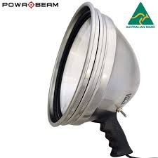 POWA BEAM 245MM 9IN HID 12V 70W HAND HELD