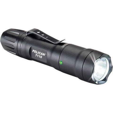 PELICAN TORCH 7110 LED BLACK 445 LUM 1 X CR123/ 1 X AA