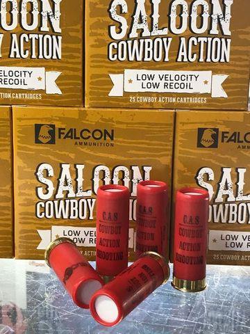 FALCON SALOON COWBOY 12GA 26GR 7 25PK