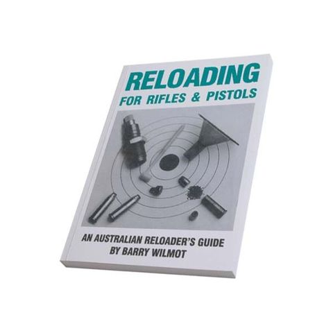 RELOADING BOOK FOR RIFLES AND PISTOLS