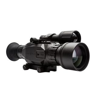 SIGHTMARK WRAITH 4-32X50 DAY/NIGHT SCOPE WITH LONG MOUNT