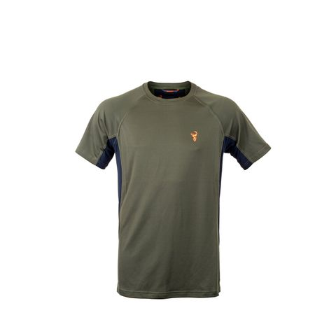 HUNTERS ELEMENT ECLIPSE TEE FOREST GREEN