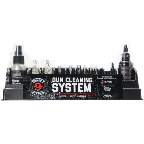 HOPPES BLACK UNIVERSAL GUN CLEANING KIT