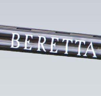 BERETTA WHITE TRIDENT BARREL STICKER