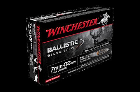 WINCHESTER BALLISTIC ST 7MM-08 140G PT 20PKT