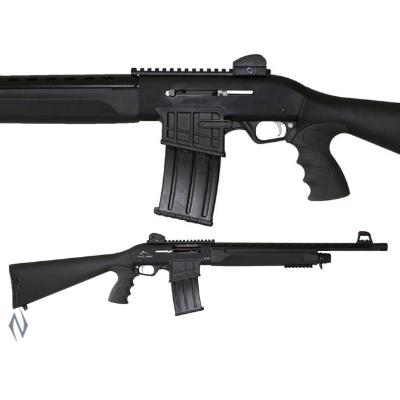 ADLER B230 12G 20IN TACTICAL STRAIGHT PULL 5 SHOT