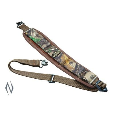 BUTLER CREEK COMFORT STRETCH RIFLE RTX SLING AND SWIVELS