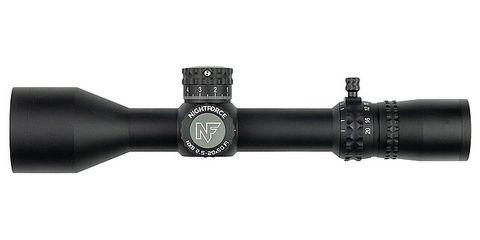 NIGHTFORCE NX8 2.5-20X50MM F1 ZS ILL PTL MOAR