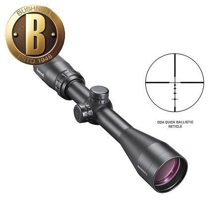 BUSHNELL BANNER2 3-9X50 BDC DOAQBR + RINGS