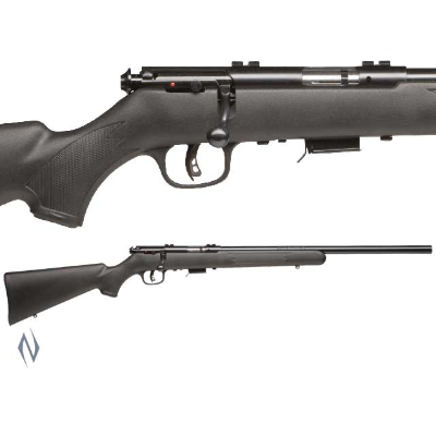 SAVAGE 93 R17 FV SYNTHETIC VARMINT BLUED 17HMR