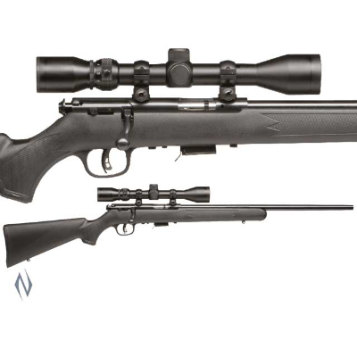 SAVAGE 93 R17 FXP SYNTHETIC BLUED PACKAGE 17HMR
