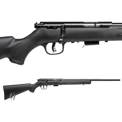 SAVAGE 93 R17 F SYNTHETIC BLUED 17HMR