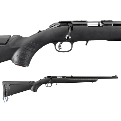 RUGER AMERICAN RIMFIRE SYNTHETIC BLUED 22LR THREADED
