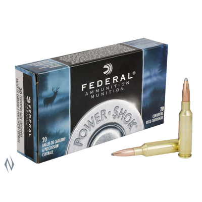 FEDERAL POWER-SHOK 6.5 CREEDMOOR 140G SP 20PKT