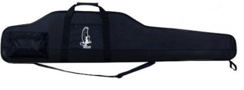 METONI DELUXE THICK EGG SHELL GUN CASE BLACK 48 INCH