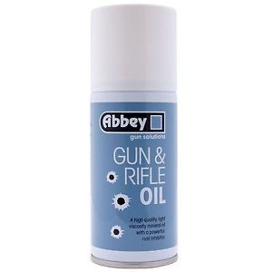 ABBEY GUN AND RIFLE OIL SPRAY AEROSOLE