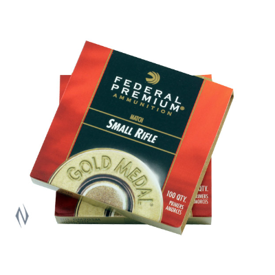 FEDERAL PRIMER GM205M GOLD MEDAL SMALL RIFLE (1000)