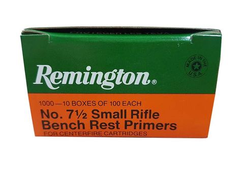 REMINGTON 7-1/2 SMALL RIFLE BR PRIMERS