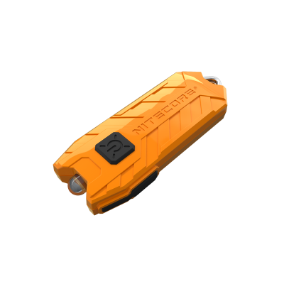 NITCORE TUBE 45 LUMEN ORANGE KEY RING TORCH