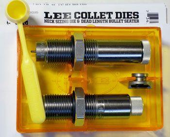 LEE COLLET 2 DIE SET 7.62X39 RUSSIAN
