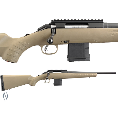 RUGER AMERICAN RIFLE RANCH 223 BLUED 16IN THREADED AR