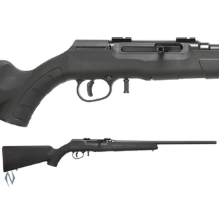 SAVAGE A22R 22LR F BLUED SYNTHETIC 10 SHOT