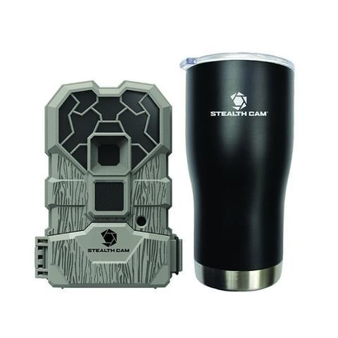STEALTH CAM TRAIL CAMERA 10MP LOW GLOW W/BONUS INSULATED MUG