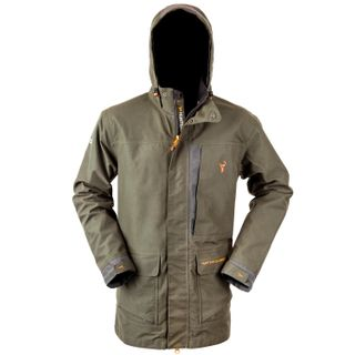 HUNTERS ELEMENT DOWNPOUR ELITE JACKET FOREST GREEN SMALL