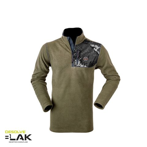 HUNTERS ELEMENT QUEST TOP FOREST GREEN